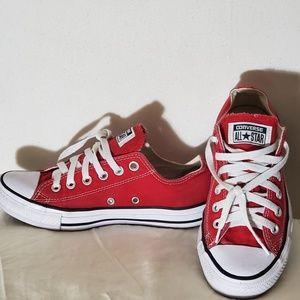 Converse sneakers/red unisex/ men's # 5